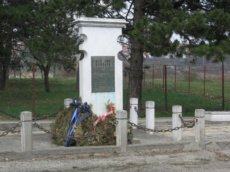 Споменик посвећен 1300 Каплара у Шумарицама у крагујевцу.