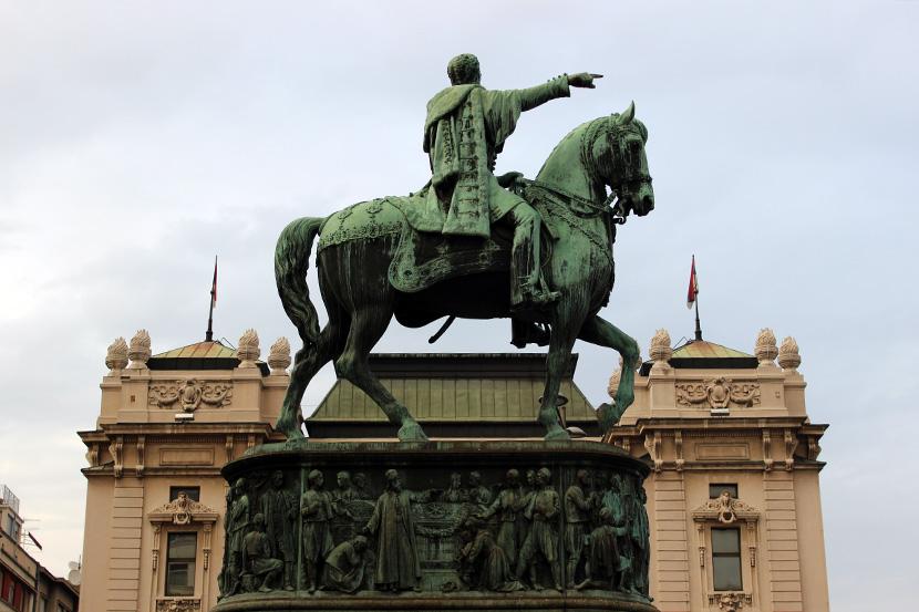 споменик кнез Михаилу