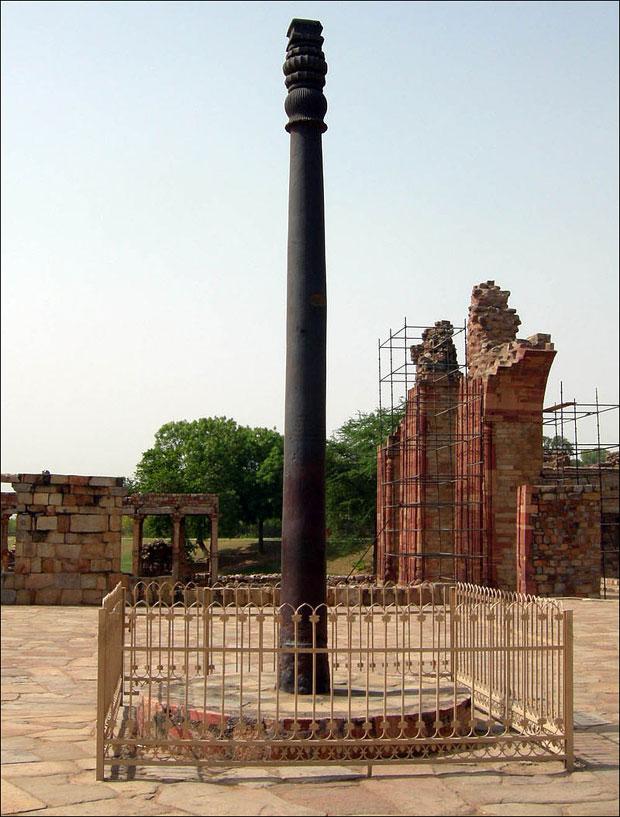 Гвоздени стуб из Индије има сличну формулу као Туровићева игла