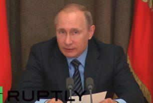 Путин објавио рат глобалистима