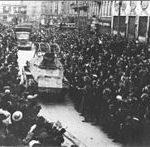 Дочек немачке војске у Загребу 1941
