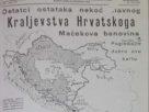"""карта Велике Хрватске, часопис """"Хрватски Домобран"""""""