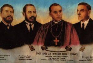 Главни идеолози геноцида над Србима у Независној Држави Хрватској