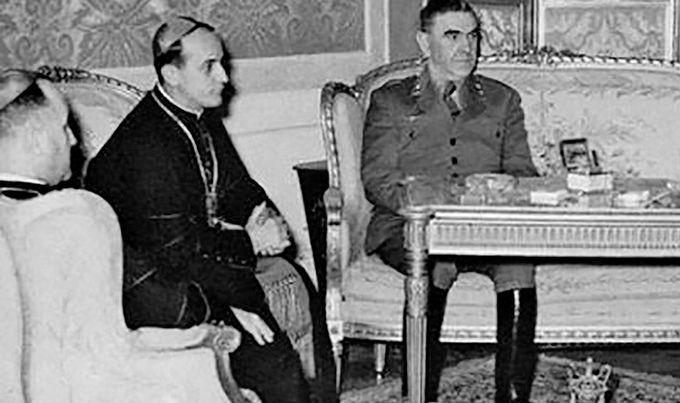 Павелић и Степинац - предводници геноцидне НДХ