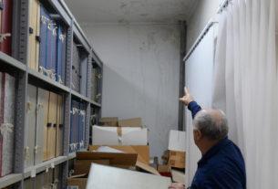 Катастрофално стање архиве САНУ
