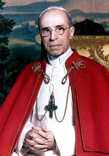 Папа Пије 12, помагач њемачким и НДХ злочинцима