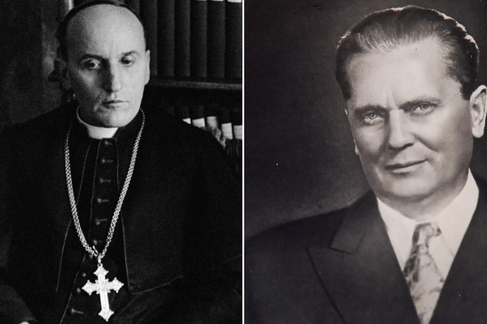 ТИТО И СТЕПИНАЦ - католици, сународници, сарадници