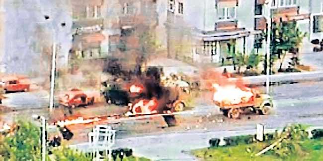 Напад на колону ЈНА у Тузли