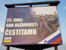 Билборд војника ЈНА
