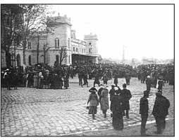 Мобилизација српске војске, у Београду, 1912. године