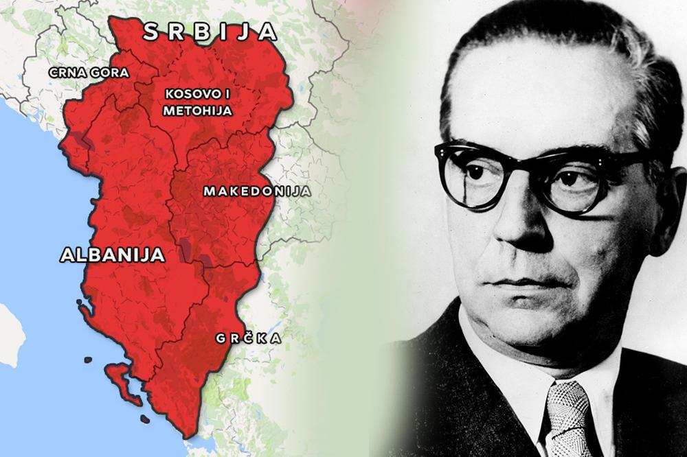 АЛБАНЦЕ ИСЕЛИТИ У ТУРСКУ, СРБИЈА ДА ЗАУЗМЕ СЕВЕР АЛБАНИЈЕ И ДРАЧ! Овако је Иво Андрић хтео да реши проблем Косова