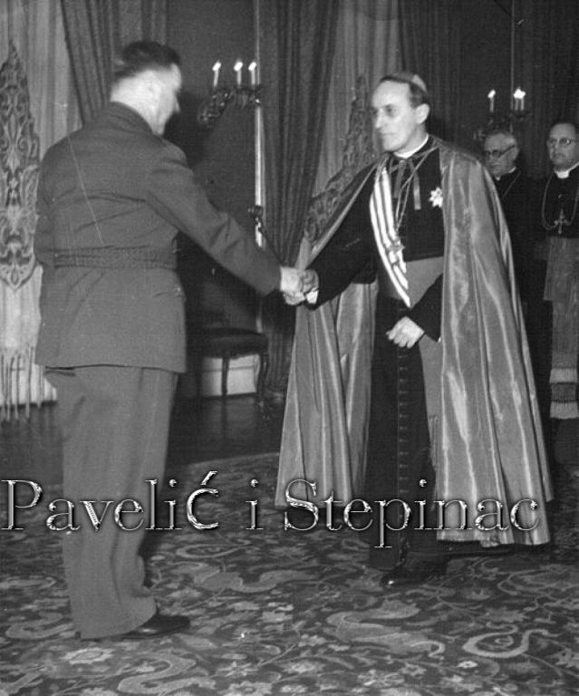 Павелић и Степинац