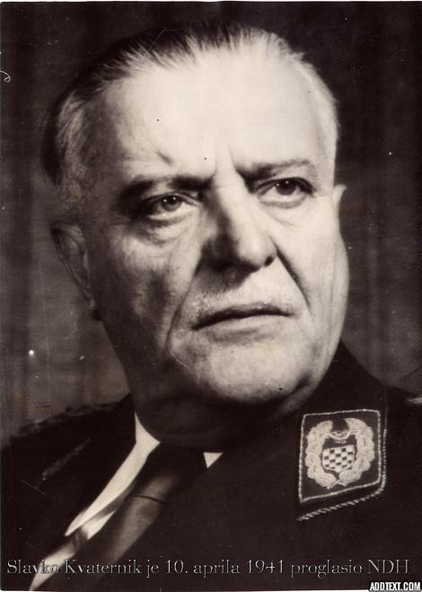 Славко Кватерник - Јеврејин који је прогласио НДХ