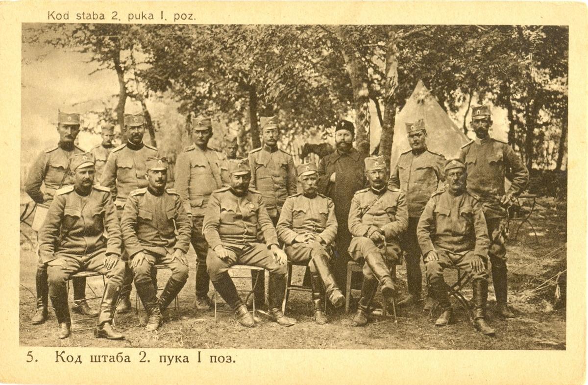 У славу српских пукова
