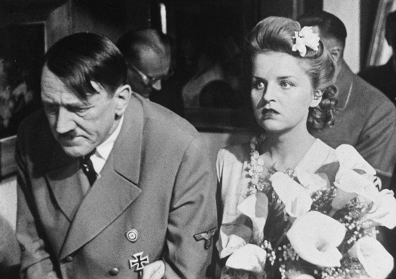 Адолф Хитлер и Ева Браун
