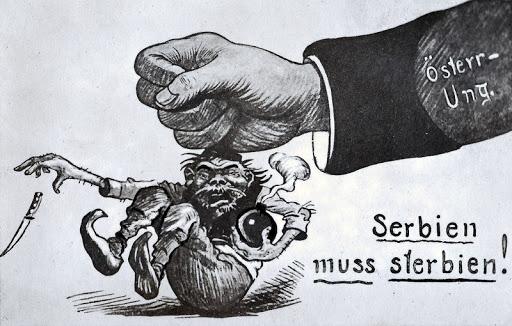 """Срби и """"србофобија"""" у """"Великом рату"""" 1914-1918."""