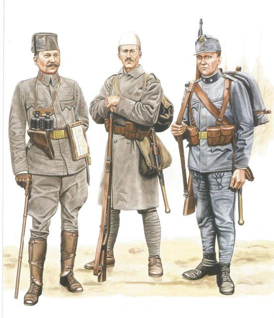 Униформе Аустроугарске војске за простор Босне, Албаније и делова Србије у којима живе рипадници њиховог народа.