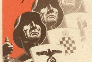НДХ плакат за позив на Источни фронт
