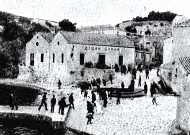 Лист Дубровник 1902.